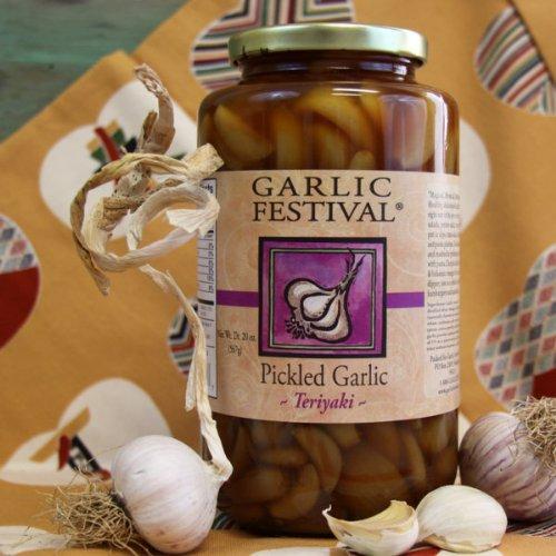 Teriyaki Pickled Garlic (Quart) (Teriyaki Pickled Garlic compare prices)