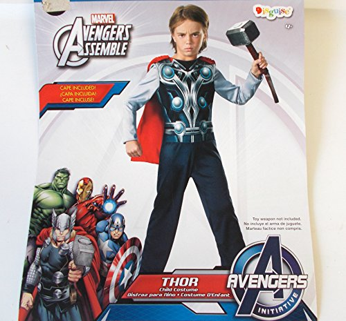 Thor Marvel Avengers Child Costume Cape S 6 NIP