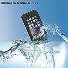 Stoon(TM)Product iPhone 6 Plus Prime Full Waterproof Shockproof Dirtproof Scratchproof Case Cover (Black)