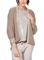Tantra Chaqueta Punto Knitted with Lurex (Beige)