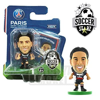 SoccerStarz Paris St Germain FC Javier Pastore Home Kit [UK IMPORT]