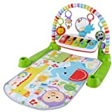 Fisher-Price Deluxe Kick 'n Play Piano Gym (Color: Blue, Tamaño: n.a.)
