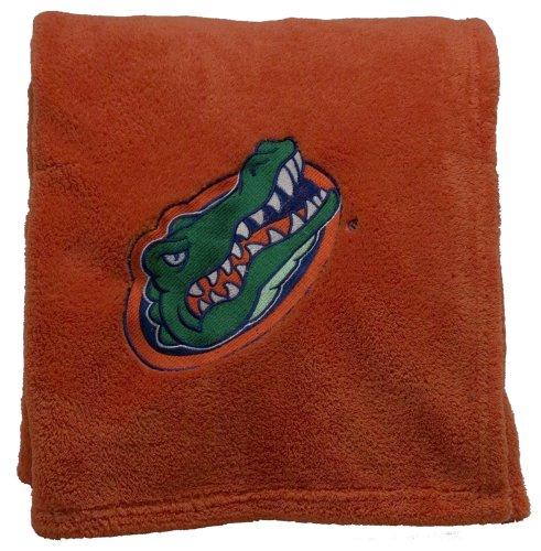 Ncaa Florida Gators Embroidered Fleece Throw, 50 X 70-Inch