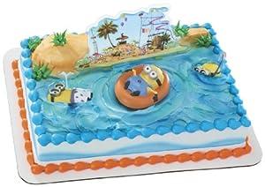 Despicable Me 2 Beach Party DecoSet Cake Decoration