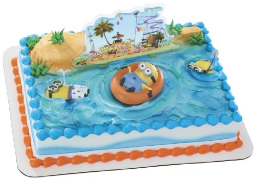 Best Review Of Despicable Me 2 Beach Party DecoSet Cake Decoration
