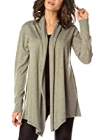 AVA by PAUL STRAGAS Chaqueta Punto Knitted Cardigan Strass (Gris)