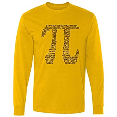 Get Pi Math Geek Long Sleeve T-Shirt