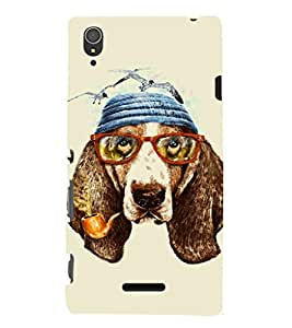 EPICCASE Seagull Case Mobile Back Case Cover For Sony Xperia T3 (Designer Case)