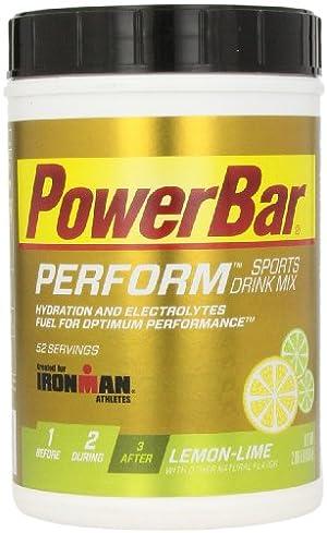 Powerbar Ironman Performance Beverage System, Lemon Lime, 936 Grams
