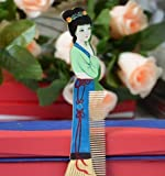 Beauty Luxury Comb, Beautiful Multi Color Wood Comb (Yc), Hand Craft Boxwood Hair Decorative Comb