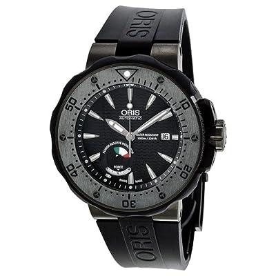 Oris Men's 01 667 7645 7284-Set Prodiver Black Dial Watch