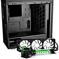 Deepcool Genome II The Upgraded Worldwide First Unique Gaming Case with 360 CPU Water Cooler + Deepcool 550W Power Supply
