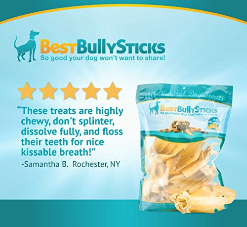 prime thick cut cow ear dog chews by best bully sticks 12 pack sourced from all natural free. Black Bedroom Furniture Sets. Home Design Ideas