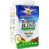 Sunwarrior Blend Raw Plant-Based Complete Protein Vanilla Powder 1Kg