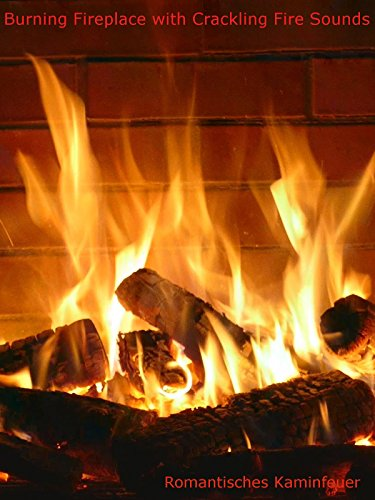 Burning Fireplace Crackling Fire