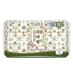 Sofy Body Fit GUIERANG Korea Herbal Sanitary Pads 18ea (Large 29cm)