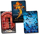 Laini Taylor Daughter of Smoke and Bone Trilogy Collection Laini Taylor 3 Books Set