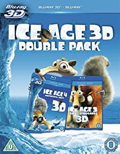 Ice Age 3: Dawn of the Dinosaurs/ Ice Age 4: Continental Drift (Blu-ray 3D + Blu-ray) [2009]