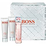Hugo Boss BOSS ORANGE WOMAN Gift Set: 50ml (1.6 Oz) EDT Spray; 50ml (1.6 Oz) Perfumed Body Lotion; 50ml (1.6 Oz) Perfumed Shower Gel