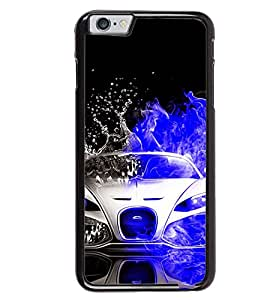 Printvisa Dual Colored Convertible Splashing Water Back Case Cover for Apple iPhone 6S