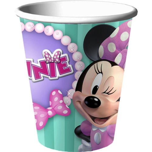Disney Minnie Mouse Bow-tique Dream Party 9 0z Cups - 1