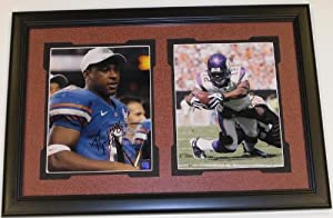 Percy Harvin Autographed Hand Signed Florida Gators 8x10 Photo - with Trophy - Custom... by Real Deal Memorabilia