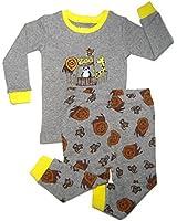 "Leveret Little Boy ""Zoo"" 2 Piece Pajama Set 100% Cotton (Size 2-8 Years)"