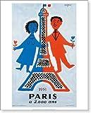 サヴィニャックポスター/Raymond Savignac/パリ誕生2000年記念/Paris a 2000 ans