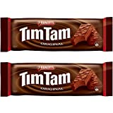 Arnott's Tim Tam | Full Size | Made in Australia | Choose Your Flavor (2 Pack) (Original Chocolate)