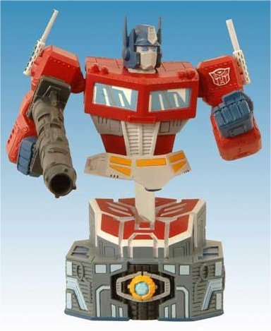 Transformers: Final Battle Optimus Bust
