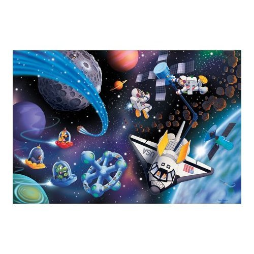 Great American Puzzle Factory Fun in Space 36 Piece Puzzle