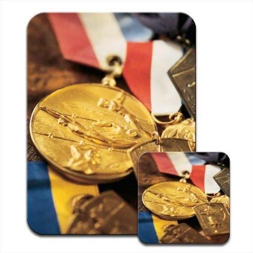 gold-medals-honours-awards-premium-mousematt-coaster-set