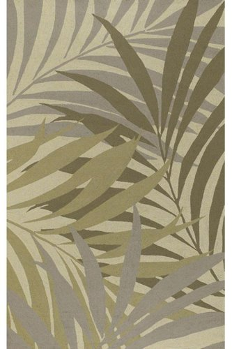 Bestow Area Outdoor Area Rug, 2'x3', SAGE