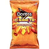 Doritos Dinamita Nacho Picoso Rolled Flavored Tortilla Chips, 4 Oz (Pack of 28)