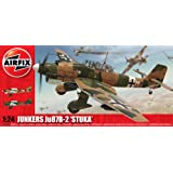 Airfix A18002A Junkers Ju-87B Stuka 1:24 Scale Series 18 Plastic Model Kit