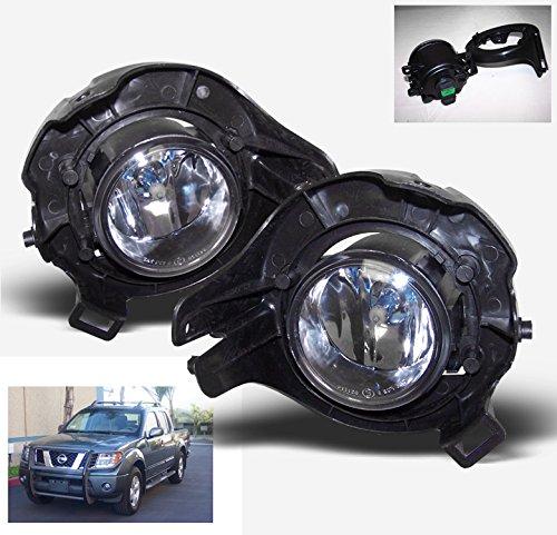 ZMAUTOPARTS Bumper Fog Light Lamp Set Chrome For Frontier/Pathfinder/ Sentra SER (2008 Nissan Sentra Ser compare prices)