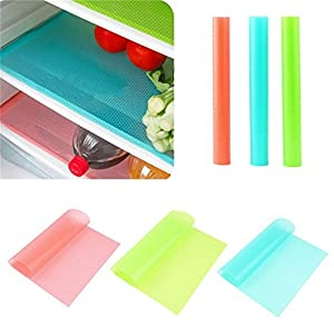 JINDIN 4pcs/lot Refrigerator Freezer Mat Anti-fouling Anti Frost Moisture Absorption Waterproof Fridge Pad 4529cm