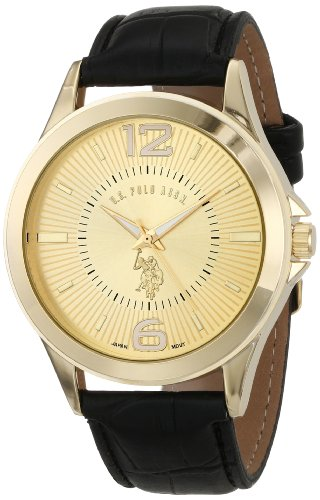U.S. Polo Assn. Classic Men'S Usc50144 Analog-Quartz Black Watch