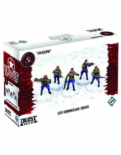 Dust Tactics: SSU Commissar Squad