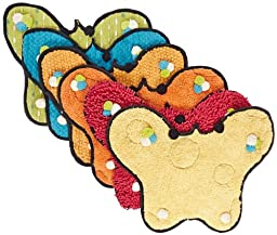 Abilitations Textured TouchMe Butterflies - Set of 6 - Assorted Colors