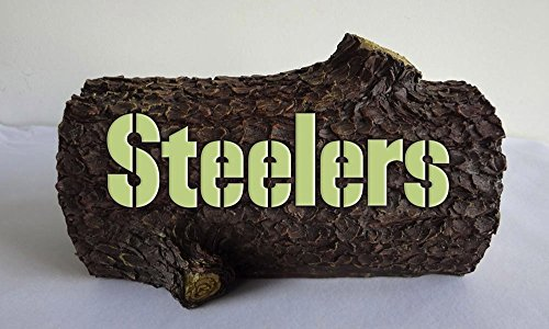 NFL Tiding Log Statue NFL Team: Pittsburgh Steelers at Steeler Mania