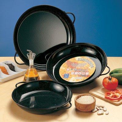 Enameled Steel Paella Pan for Tapas - 6 inch - 15 cm