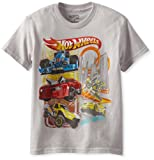 Hot Wheels Boys 8-20 Stunt Driver Tee