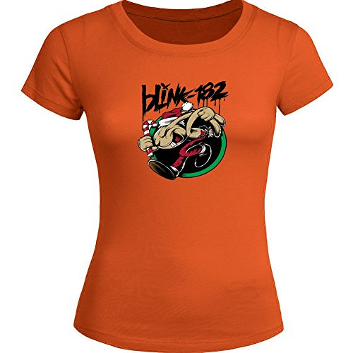 Classic Blink 182 For Ladies Womens T-shirt Tee Outlet