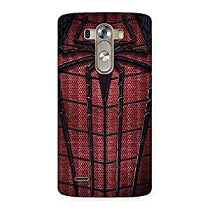 Impressive Premier Web Wear Multicolor Back Case Cover for LG G3