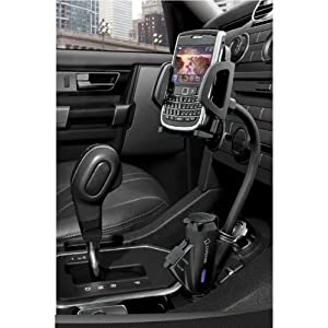 Capdase Car Lighter Cradle Mount Charger for iPhone 4 Mobile GPS by Koolertron from Koolertron