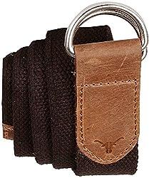 Hidecraft Canvas-leather Belt for Men
