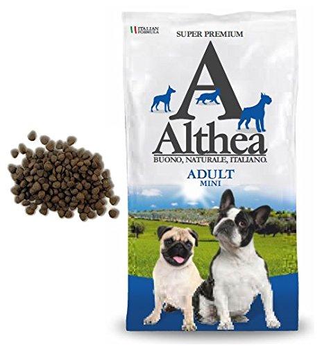 Althea Adult Mini 2,5 kg - Crocchette alla carne per cani adulti di taglia piccola, naturali al 100%