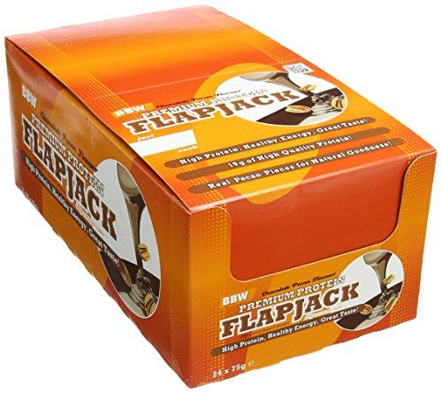 bodybuilding-warehouse-chocolate-pecan-premium-protein-flapjack-pack-of-24-bars