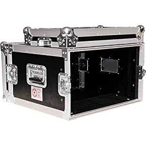 "Eurolite 6U 19"" Rack Mount Amp Case 6U"